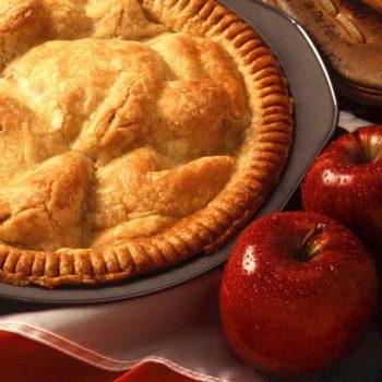 Rezept Wicked Cricket Apfelkuchen mit wurm