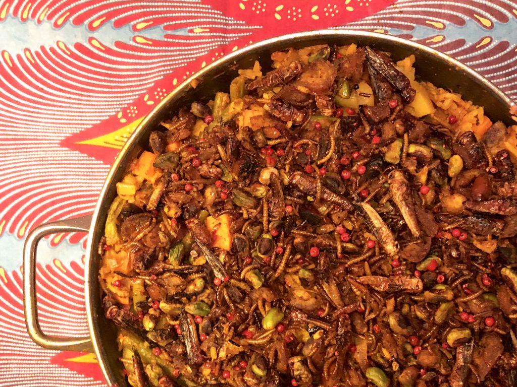 Rezept Wicked Cricket Insekten Paella